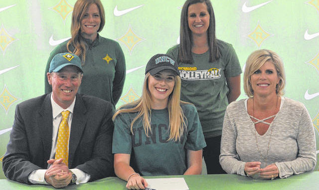 Griffin makes it official, signs LOI to play volleyball at UNC-Wilmington | Richmond County Daily Journal