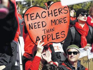 North Carolina group gauges teachers' support for strike