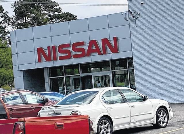 Brandon Tester | Richmond County Daily Journal Local car dealerships, like Griffin Nissan in Rockingham, are staying open during the coronavirus pandemic because they provide essential services.