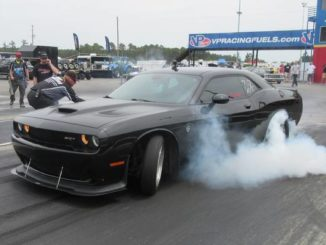 Dragway holding events without spectators