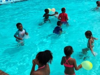 Courtesy photo                                 Children participate in the Rockingham Parks and Recreation swimming camp last year. This year's swimming camp has been canceled because of concerns about the COVID-19 pandemic and the restrictions stemming from it.