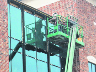 Brandon Tester   Daily Journal file photo                                 In a teleconference on Tuesday, Richmond Community College Trustees will hear an update on the construction of the Robinette Building in downtown Rockingham.