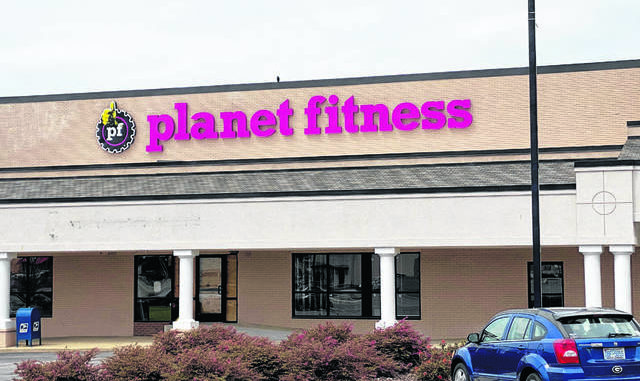 Daily Journal file photo                                 The new Planet Fitness facility in Richmond Plaza will be completed later this summer.