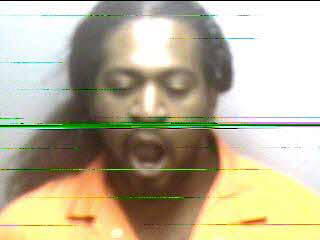 Jail staff were unable to get a quality mug shot of Reginald Deon Wall Thursday.