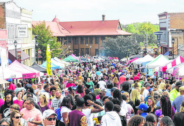 File photo                                 This picture shows the scene at the 2019 Seaboard Festival.