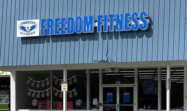 Brandon Tester | Daily Journal                                 Freedom Fitness in Rockingham has reopened despite Gov. Roy Cooper's executive order requiring gyms and fitness centers to remain closed.