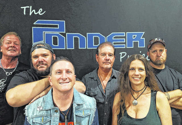 Photo courtesy of Richmond Community College                                 The Ponder Project is now made up of John Baker, Shot Allen, Kevin Butler, Billie Adeimy, Jason Singleton and Bobby Pearce, with Anakin Storm White (not pictured) preparing to replace Allen on drums.