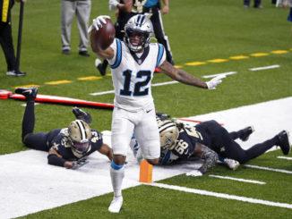 Brees' clutch precision lifts Saints past Panthers, 27-24