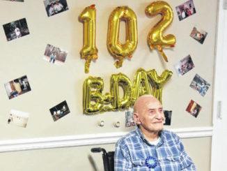 World War II veteran still thriving at 102