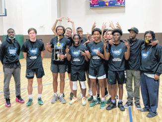 Raider basketball team wins 9 Dimes Fall League tournament