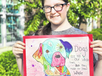 Local student's art to be displayed at capital