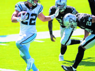 Panthers 'very hopeful' McCaffrey plays vs. Chiefs