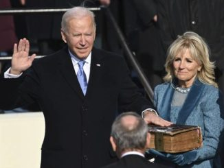 Biden takes the helm as president