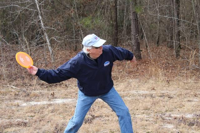 Matthew Sasser | Daily Journal                                 Mayor Steve Morris teeing off.