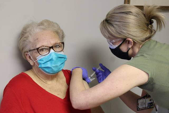 Daily Journal file photo                                 Richmond County has vaccinated ⅔ of its 65-and-older population, according to FirstHealth.