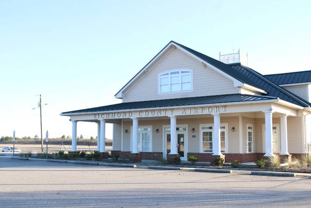 Gavin Stone | Daily Journal                                 The Richmond County Airport is seeking to expand its runway.