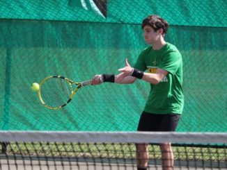 Raider boys' tennis edges Jack Britt in doubleheader