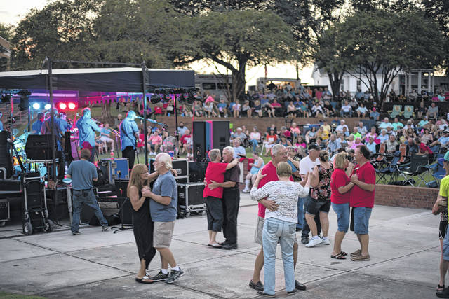 Plaza Jam typically draws 500-600 people in attendance.                                  Daily Journal file photo
