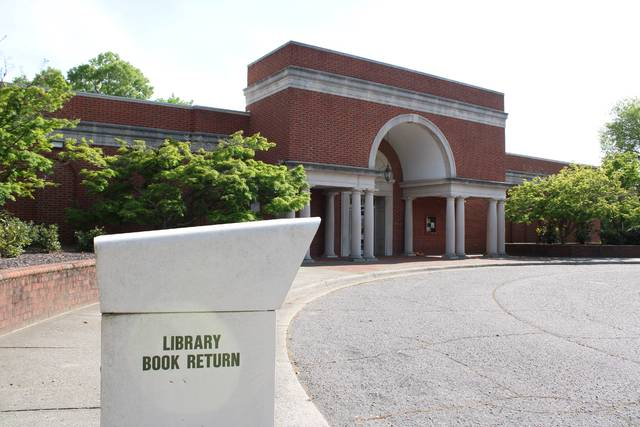 Gavin Stone | Daily Journal                                 Leath Memorial Library, pictured, as well as Hamlet Public Library and Kemp-Sugg Memorial Library all partially reopened this week beginning Monday.