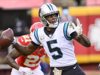 Panthers trading QB Bridgewater to Broncos