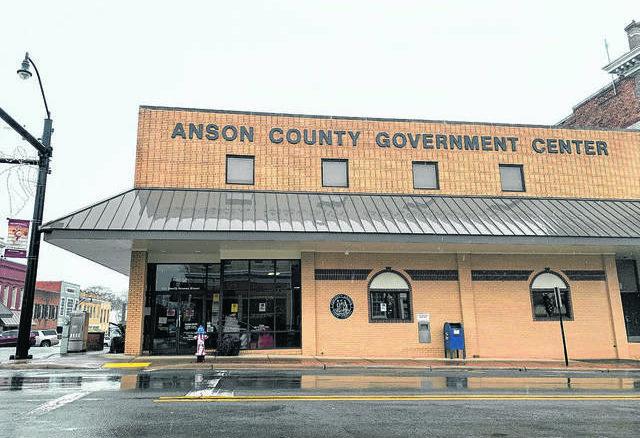 Anson Record file photo                                 The Anson County Government Center in downtown Wadesboro.