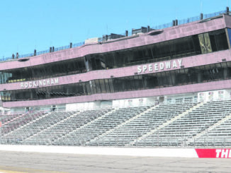 Neel Madhavan | Daily Journal file photo                                  The Rockingham Speedway was targeted for some federal COVID relief money in Governor Roy Cooper's budget proposal released this week.
