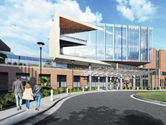 Photo courtesy of FirstHealth                                 A digital rendering of the future FirstHealth Cancer Center.
