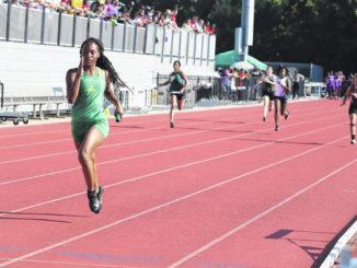 Richmond competes at regional track meet