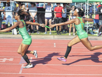 Lady Raiders run at 4A state track meet