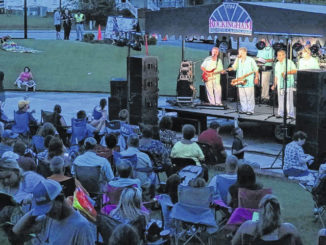 The Embers featuring Craig Woolard performing at Plaza Jam in 2018.                                  Gavin Stone | Daily Journal