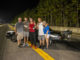 Rockingham Street Car Shootout winner Mike Gunter and his crew                                  Contributed Photo