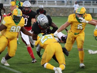 Raiders weather early storm to beat Butler 32-29