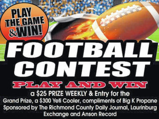 Barbour wins Week 1 of Football Pick'Em Contest