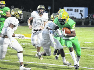 Raiders fight, but come up short in 30-22 loss to Cardinal Gibbons
