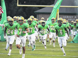 The Raiders take to the field ahead of last week's game against South View.                                  Neel Madhavan | Daily Journal File Photo